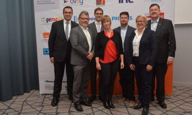 3. Deutscher Interoperabilitätstag: Vernetzte Gesundheitsversorgung einheitlich als Ziel setzen